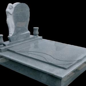 Csepp fedlapos síremlék Máriás fejkő