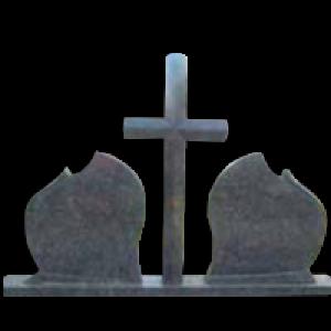 Szimmetrikus keresztes sírkőemlék