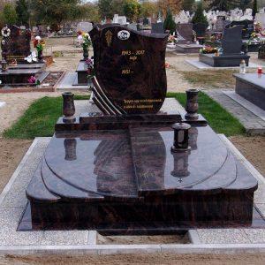 Aurora gránit síremlék